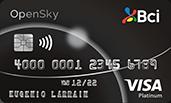 Tarjeta de Crédito Bci Visa OpenSky Platinum