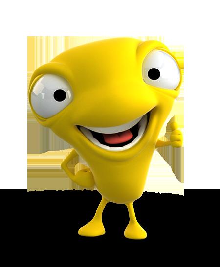 Mono Bci Amarillo
