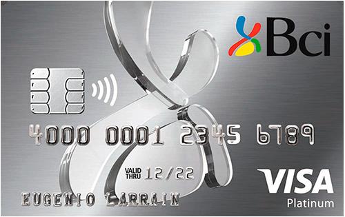 tarjeta Plan Bci Premier Visa Platinium