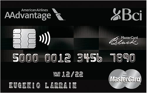 tarjeta Plan Bci AAdvantage Mastercard Black