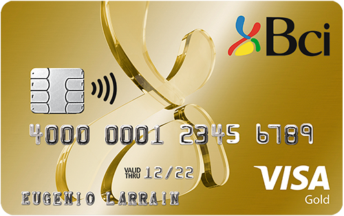 tarjeta Bci Visa Gold