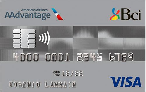 tarjeta Plan Bci AAdvantage Visa
