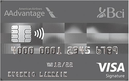 tarjeta Plan Bci AAdvantage Visa Platinium