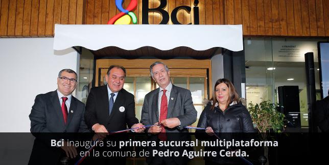 Nueva Sucursal Multisegmento Pedro Aguirre Cerda