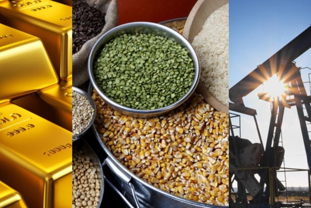 Caídas en los Commodities 15.04.2019