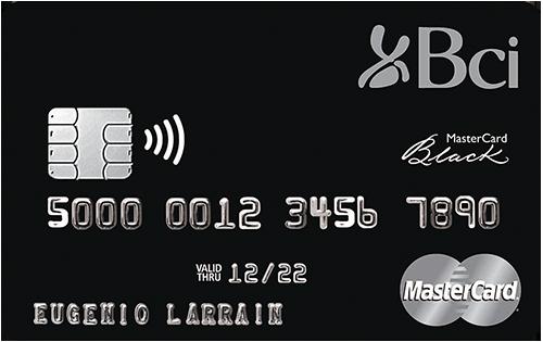 tarjeta Plan Bci Preferencial Mastercard Black